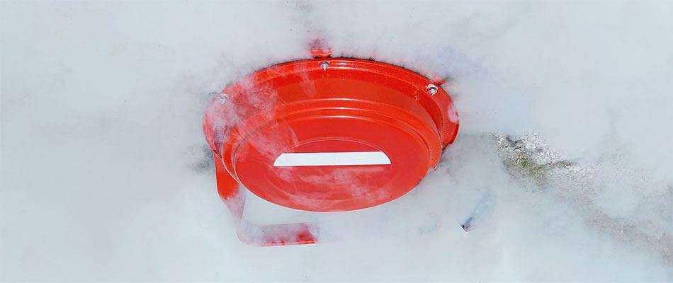 Аэрозольное пожаротушение - Монтаж, установка систем