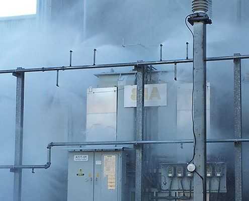 Дренчерная автоматическая система пожаротушения от ООО