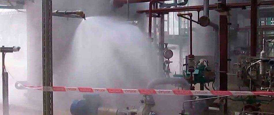 Установим дренчерное пожаротушение в Москве