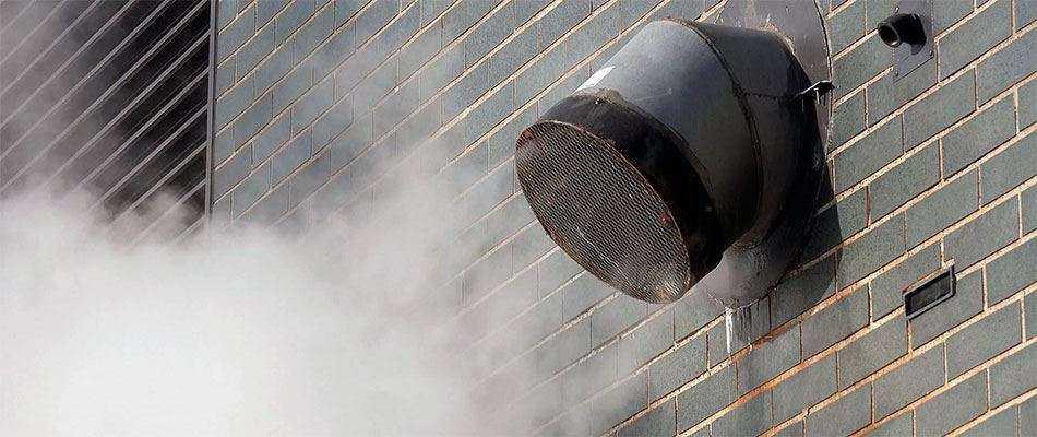 Дымоудаление из коридоров общественных зданий