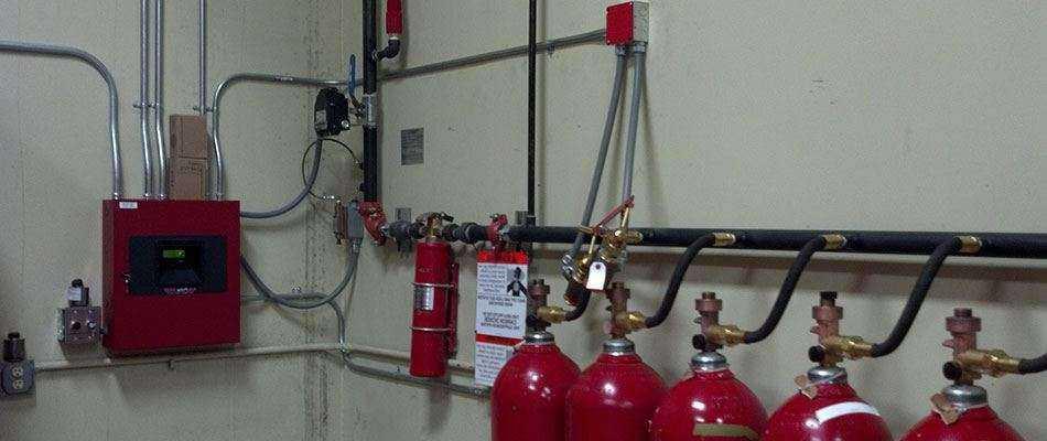 Станция газового пожаротушения