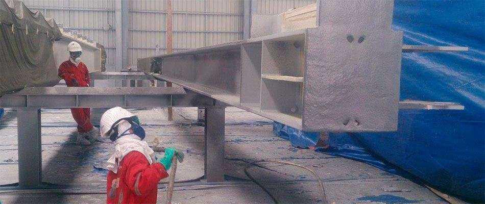 Обработка металлических конструкций огнезащитным составом - Преимущества