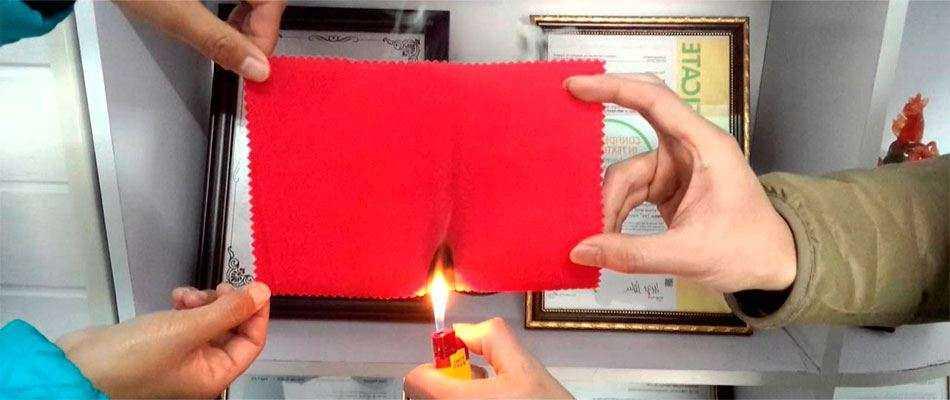 Огнезащита для ткани в Москве