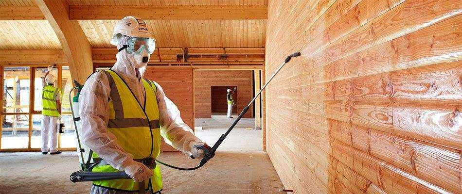 Почему лучшая обработка деревянных конструкций огнезащитным составом у ООО «СПБ»