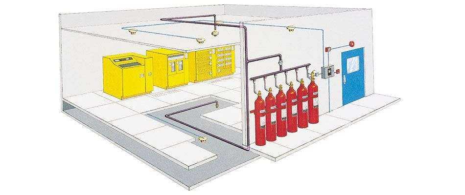 Проектирование водяного пожаротушения, пенного, газового