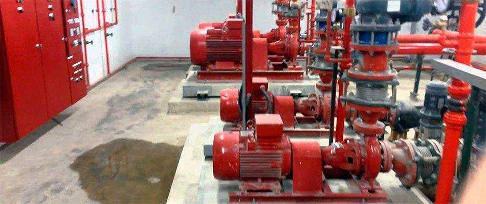 Проект внутреннего пожарного водопровода в Москве