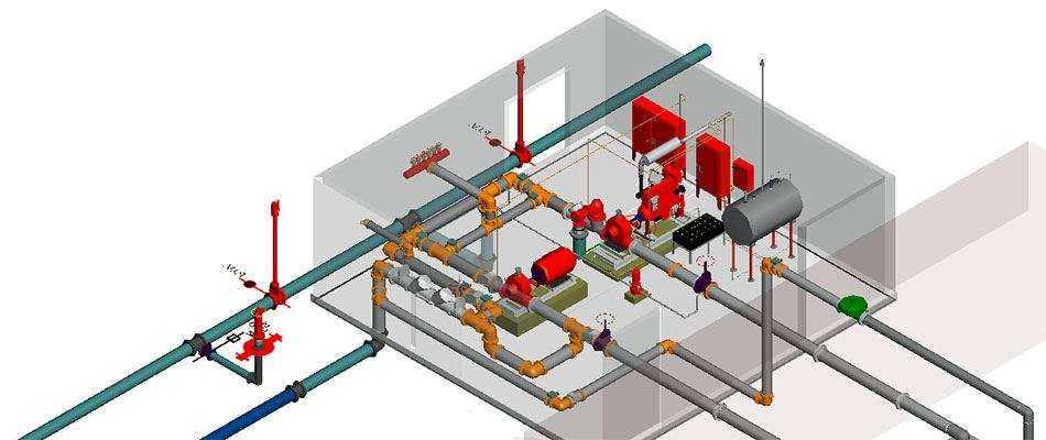 Проектирование систем пожаротушения