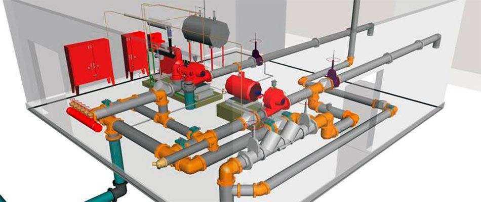 Проектирование противопожарных систем в Москве