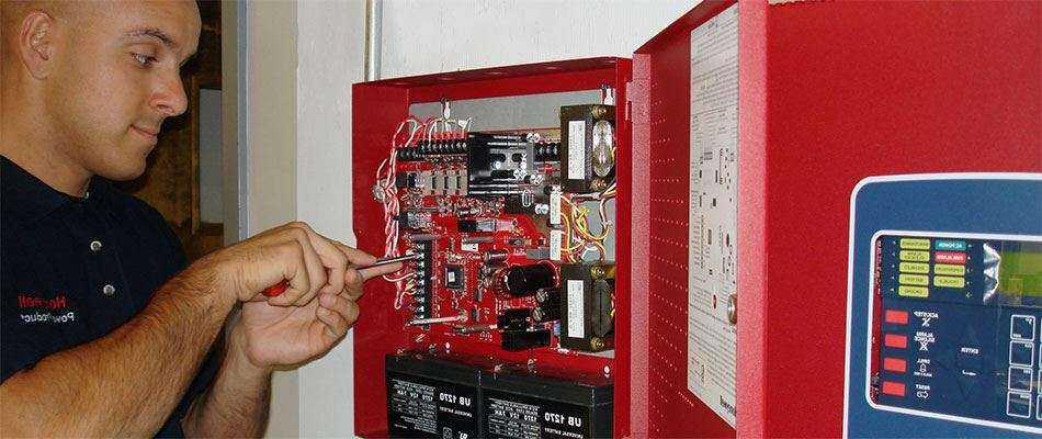 Установка систем пожарного оповещения в Москве