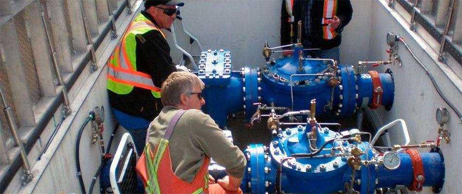 Монтаж систем водоснабжения и канализации в Москве