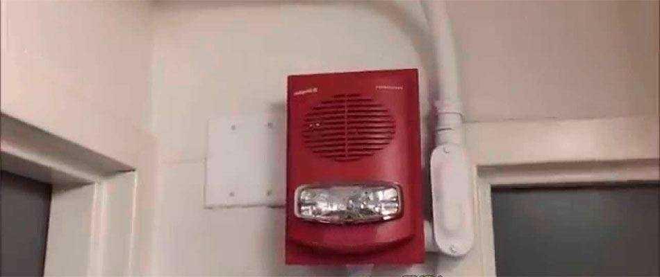 Световые системы оповещения о пожаре