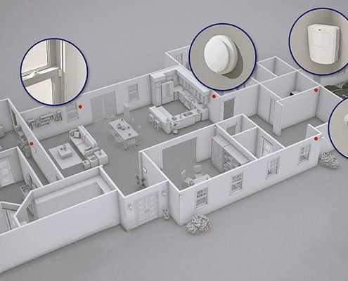 Проектирование и монтаж охранного оборудования в Москве