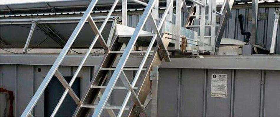 Испытание пожарных лестниц и ограждений