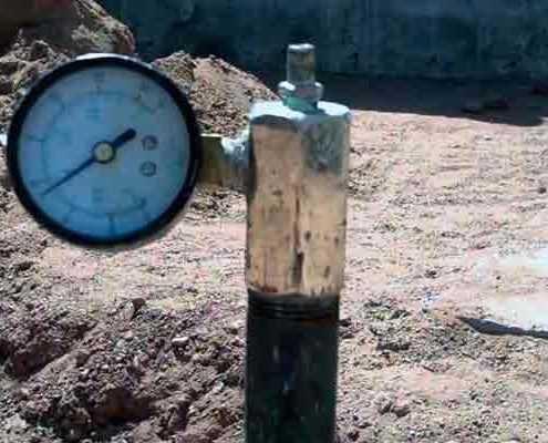 Испытание внутреннего водопровода в Москве