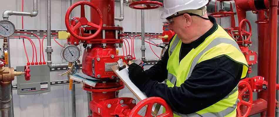 Проверка систем пожаротушения в Москве