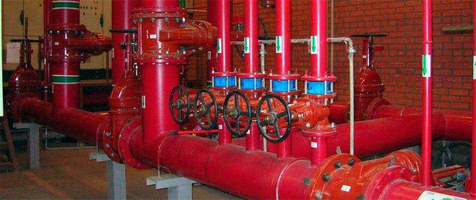 Обслуживание противопожарного водопровода
