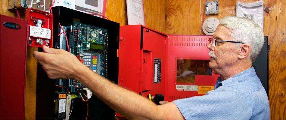 Обслуживание пожарной сигнализации ОПС, АПС и СОУЭ