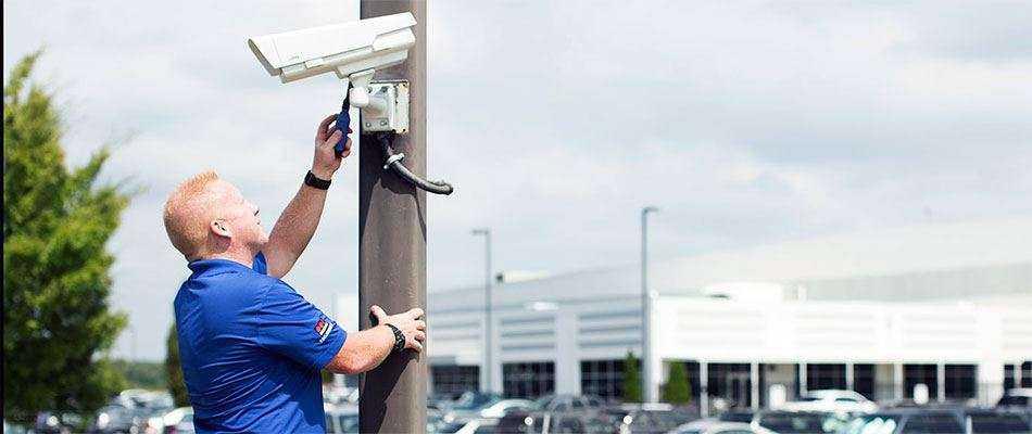 Обслуживание оборудования систем безопасности
