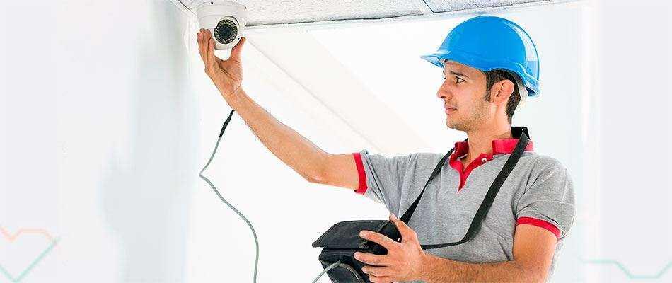Ремонт и обслуживание камер видеонаблюдения