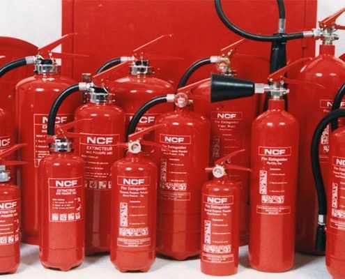 Обслуживание систем пожаротушения, газового, водяного, порошкового и пенного типа в Москве