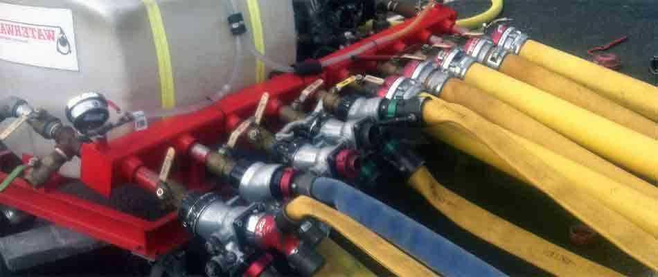 Экспертная проверка пожарных рукавов и кранов