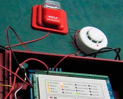 Расчёт пожарной сигнализации и систем оповещения в Москве