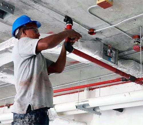 Обслуживание и ремонт систем пожарной безопасности
