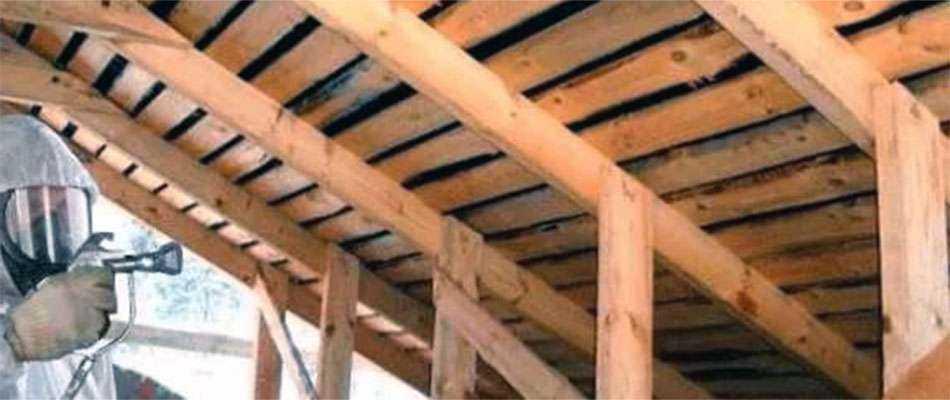 Пожарная обработка деревянных конструкций домов - Виды и преимущества